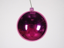Winterland WL-ORN-BLKS-70-PI-UV 70MM Shiny Purple Ball Ornament W/Wire And UV Coating