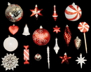 LEDgen WL-ORNKIT-98-CDY - 98 Piece Candy Collection Ornament Kit