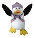Winterland WL-PNG-FNY-LPU-MINI Mini Funny Penguin Kipper with Light Purple Hat & Scarf
