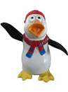 Winterland WL-PNG-FNY-RB-MINI Mini Funny Penguin Jipper with Red and Blue Hat & Scarf