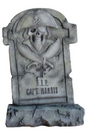 Winterland WL-PRT-TMBST-CPT 3.5' Captain Pirate Tombstone