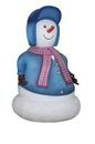 Winterland WL-SNMN-PA-MINI Mini Snowman Father Dressed in Red & Blue