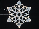 Winterland WL-STAR-24-LWW 2' Snowflake With Warm White LED Lights