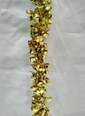 Winterland WL-TGAR-100-GO - 100' Gold Metallic Tinsel Garland