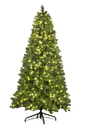 Winterland WL-TRBM-09-LWW 9' Mixed Blended Pine Tree Pre-Lit with Warm White LED Lights