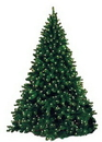 Winterland WL-TRNAT-7-5-LWW 7.5' Natural Pre-Lit Tree with Warm White LED Lights