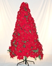 Winterland WL-TRPS-06 6' Tall Poinsettia Tree