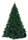 Winterland WL-TRSQ-09-LWW 9' Classic Sequoia Pre Lit Tree With 2000 Warm White Lights And Metal Stand