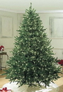 Winterland WL-TRSQ-7-5-LPW 7.5' Sequoia Fir Tree Pre-Lit with Pure White LEDs