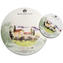 Magnani 506016/DS Toscana Ds Round Block, 16cm