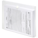 LION 22030-CR VEL-CLOSE-R Clear Poly Envelopes, 1-1/6