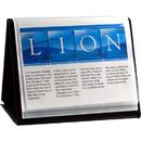 LION 39008-H FLIP-N-TELL Display Book-N-Easel