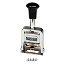 LION C-77 PRO-LINE Heavy-Duty Automatic Numbering Machine, 7-wheel - Roman - 1 Each