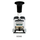 LION D-51 PRO-LINE Heavy-Duty Automatic Numbering Machine, 5-wheel - Roman - 1 Each