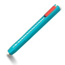LION ER-1S Retractable Pen Style Eraser, Blue