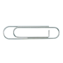 LION NO3 Extra Large Paper Clips, 3.8