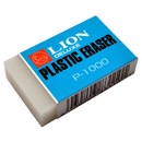 LION P-1000 Translucent White Big Plastic Eraser