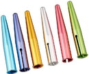 Kutsuwa HiLine Pencil Cap, Pack of 6, Assorted Metallic Color