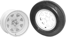 Americana Tire and Wheel 480X12C 5H Tire & Spoke Rim 30660 (Image for Reference)