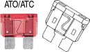 Ancor ATO/ATC 15 FUSE (2) 604015 (Image for Reference)