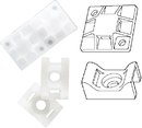 Ancor CABLE TIE MOUNT #8 199231 (25/PK) (Image for Reference)
