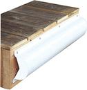 Dock Edge 1020-F Piling Bumper, 6', White, Pvc, (1Pc/Pk)