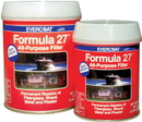 FiberglassEvercoat FORMULA 27 PLSTC FILL, 1/2PT 100572 (Image for Reference)