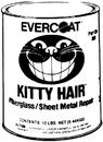 FiberglassEvercoat KITTY HAIR FILLER, QT 100868 (Image for Reference)