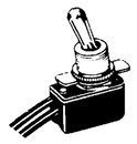 MarineWorks TOGGLE SWITCH TG21050-1 (Image for Reference)