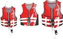 Airhead 10076-10-B-RD Swoosh Neolite Flex Vest, Red L