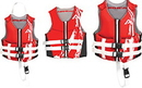 Airhead 10076-13-B-RD Swoosh Neolite Flex Vest, Red 3Xl