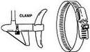 RigRite STAINLESS STEEL CLAMP 450 (Image for Reference)