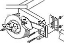 VeeVee HD SPARE TIRE CARRIER SM-97 (Image for Reference)