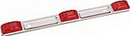 Wesbar WATERPROOF LIGHT BAR RED 203315 (Image for Reference)