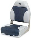 Wise HI-BACK WHITE PLASTIC SEAT WD588PLS-710 (Image for Reference)