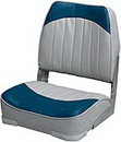 Wise PLASTIC SEAT, GREY/RED WD734PLS-661 (Image for Reference)