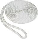 SeaSense 50013002 3/8Inx25Ft Tw Dockline White