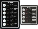 SeaSense 50031286 Led Switch Panel 6 Gang