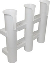 SeaSense 50091429 3 Rack Rod Holder, White