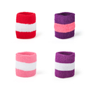 GOGO 3-Color Terry Cloth Wristband / Headband Wholesale