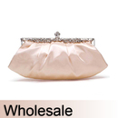Toptie Compact Satin Evening Clutch - Wholesale