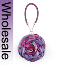 Toptie Two-Tone Rose Little Round Clutch Purse - Wholesale