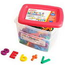 Educational Insights 1636 Alphamagnets® & Mathmagnets®-Multicolored (126 Pieces)