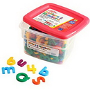 Educational Insights 1638 Alphamagnets® & Mathmagnets®-Multicolored (214 Pieces)
