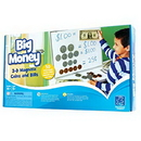 Educational Insights 3063 Big Money™ 3-D Magnetic Coins And Bills