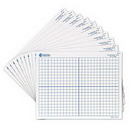 Learning Resources 39143 Double-Sided (X, Y Axis) Dry-Erase Mats (Set/10)