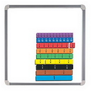 Educational Insights 4801 Foam Magnetic Fraction Strips