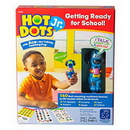 Educational Insights 6106 Hot Dots® Jr. Getting Ready For School! Set With Ace Pen