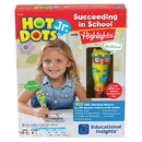 Learning Resources 6108 Hot Dots Jr. Succeeding In School Set With Highlights Tm