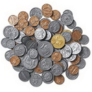 Learning Resources LER0101B Coins In A Bag